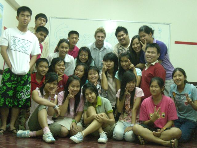 Johnny Ward, Thailand English Teacher