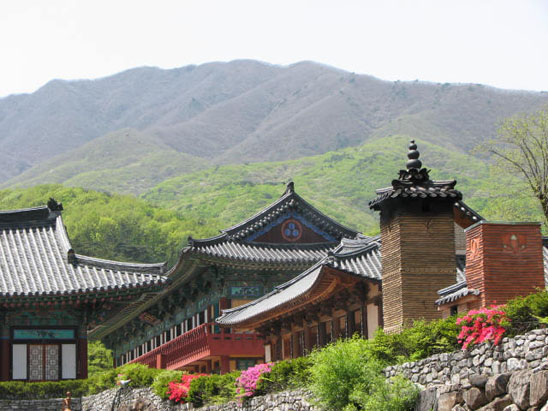 Jikjisa Temple in Gimcheon