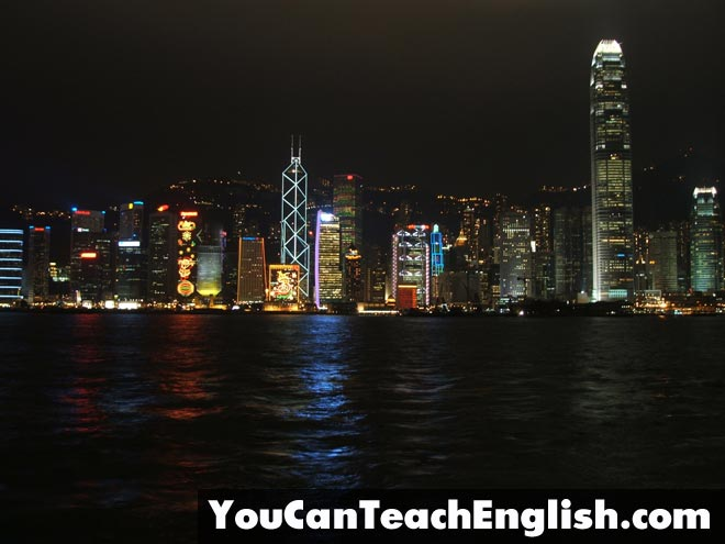 Teach ESL Hong Kong
