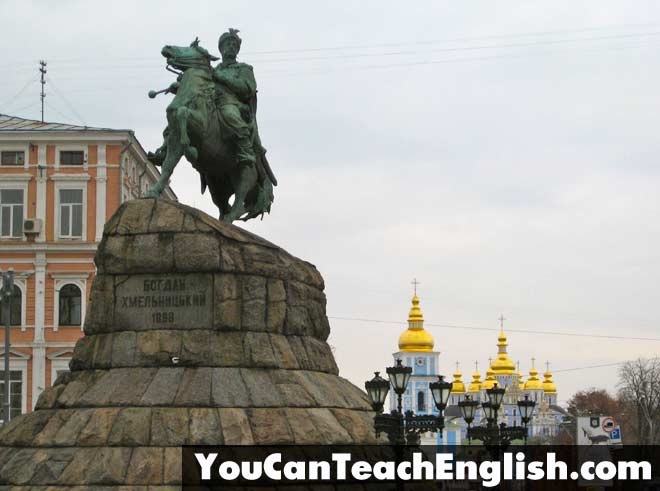 Teach English Ukraine Kiev StMichaels