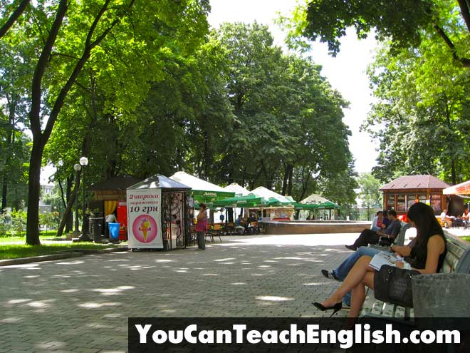 Teach English Ukraine Kiev Summer