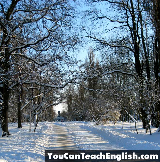 Teach English Ukraine Winter